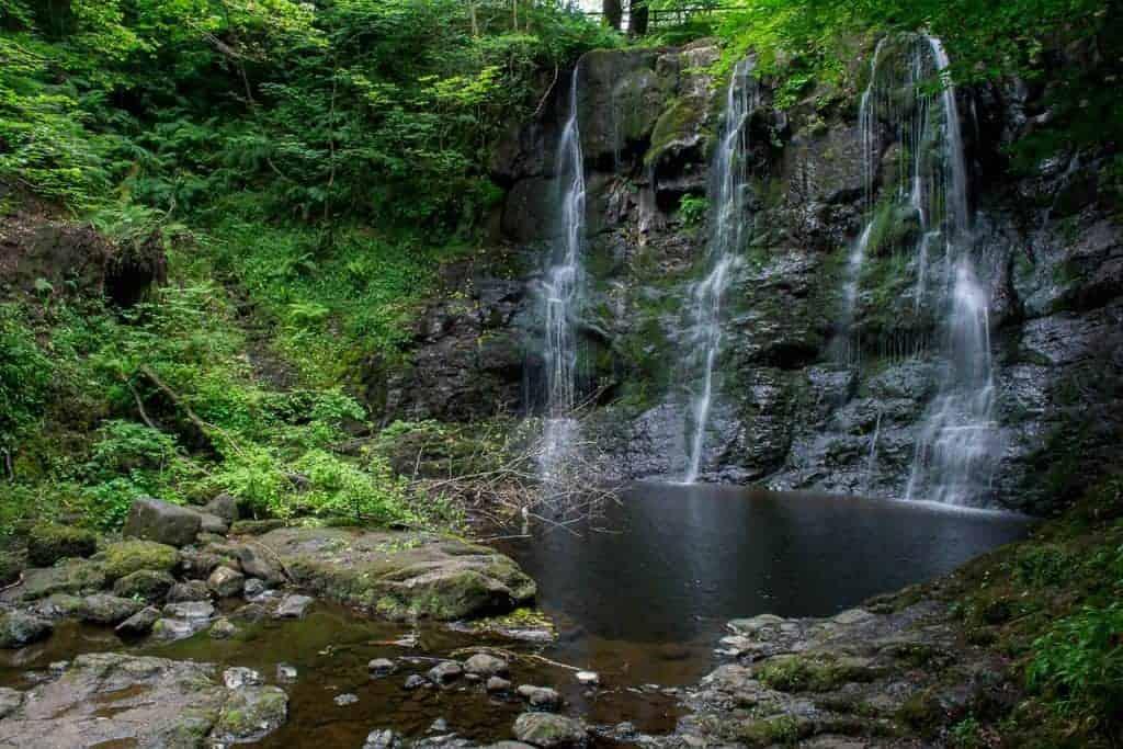 Glenariff Wasserfall